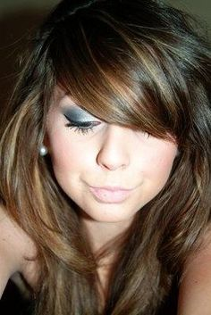 hair and bangs | Hairstyles and Beauty Tips