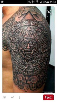 ber ideen zu azteken tattoo auf pinterest maya tattoos fuchs tattoo und tattoo vorlagen. Black Bedroom Furniture Sets. Home Design Ideas
