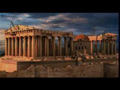 Parthenon through time... Kids love the explosions!