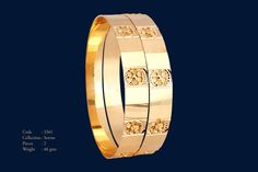 1 Gold Ring Designs, Gold Bangles Design, Jewelry Design, Amrapali Jewellery, Maharashtrian Jewellery, Ladies Bangles, Stylish Jewelry, Gold Jewelry, Jewelery