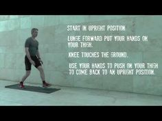 Instruction video on 'Hand Held Lunges' Lunges, Comebacks, Holding Hands, Exercises, Routine, Hold On, Positivity, Feelings, Friends