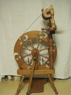 ashford spinning wheel and accessories