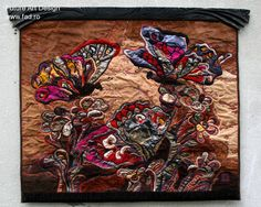 Csata Hermina _patchwork and embroidery on leather