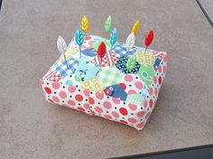 hexies pincushion