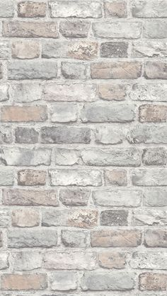 I Love Wallpaper Battersea Brick Wallpaper in Pastel - Wallpaper - A Beautiful Brick Effect Wallpaper brought to you by I Love Wallpaper. For similar designs and mor - Brick Wallpaper Hd, Brick Wallpaper Bedroom, Neutral Wallpaper, Interior Wallpaper, Pastel Wallpaper, Textured Wallpaper, Textured Walls, Classy Wallpaper, Brick Effect Wallpaper Living Room