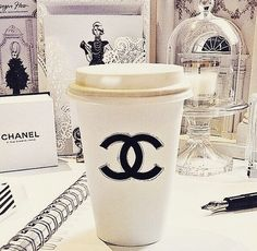 Everything tastes better in Chanel. ☕️