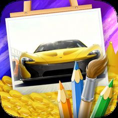 Cover art Android Apps, Google Play, Cover Art, Super Cars, Coloring Pages, Quote Coloring Pages, Colouring Pages, Coloring Sheets, Coloring Books
