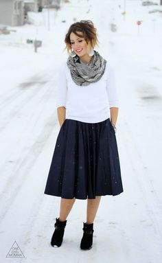 Modest Winter Look