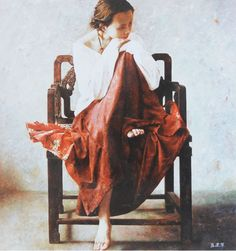 Lu Jian Jun - Girl with red skirt