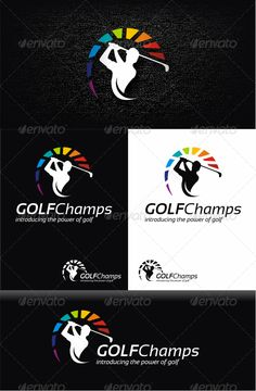 Golf	 Logo Design Template Vector #logotype Download it here: http://graphicriver.net/item/golf-logo-template/3168400?s_rank=1434?ref=nexion