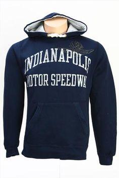 Indianapolis Motor Speedway Navy Rebellion Hooded Sweatshirt