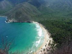#Choroni Beach, #Venezuela. A welcome respite from frenetic Caracas