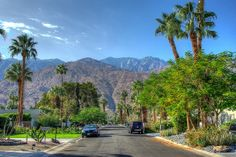 Palm Springs California, San Jacinto Mountains