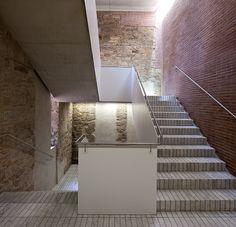 Meritxell Inaraja — 'LA SECA' , #Barcelona, #Spain #brick #walls #paredes #rusticas em #tijolo