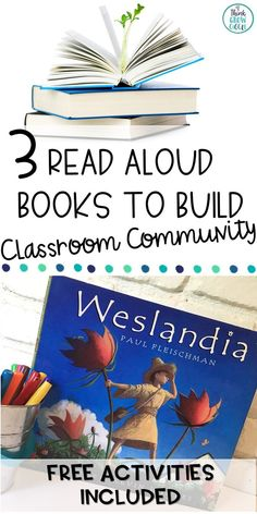 Build a strong classroom community in your elementary or middle school classroom with these engaging picture books. These read aloud stories are perfect for your first week of school or during your morning meeting time. Your students will love to hear about each of the main characters journey to becoming accepted. FREE student activities included! Click to see more.