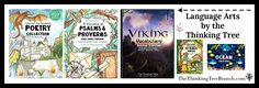 On this page, I put the journals that are kind of an all-in-one type of Language Arts. The Journals like the Poetry Collection, Viking Vocabulary, and so forth. For journals that focus more on…