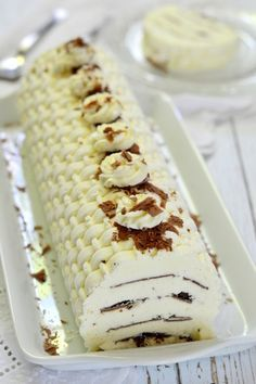 Vienetta recept Diabetic Recipes, Baby Food Recipes, Dessert Recipes, Cooking Recipes, Frozen Yoghurt, Trifle, Christmas Desserts, Fudge, Food And Drink