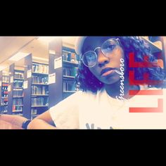 Yesterday in the library   #blackgirls #blackgirlmagic #singer #newmusic #new #nuevos #latina #philly #philadelphia #ncat #northcarolina #france #french #ohio #georgia #naturalhair #protectivestyles #natural #snapchat #music #books #library #smart #followforfollow #foreverlit #youtuber #subscribers #iconic #life #red