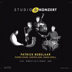 Patrick Bebelaar Studio Konzert LP Vinil 180 Gramas Neuklang Bauer Studios AAA Gatefold Pallas Alemanha - Vinyl Gourmet