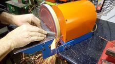 Homemade disk sander & sharpening wheel MDF/ Szlifierka tarczowa & koło ...