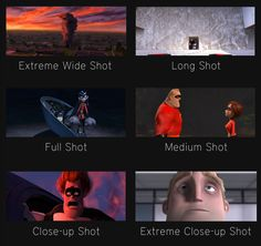 """Here is Part 1 of 3 on a case study of the shot compositions from Pixar's film """"The  Incredibles, I'll go over how the relationships of all ..."""