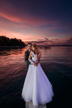 The bride and groom on their wedding day. Wedding photography.  http://www.photographytalk.com/photo-galleries/trending/wedding-photography