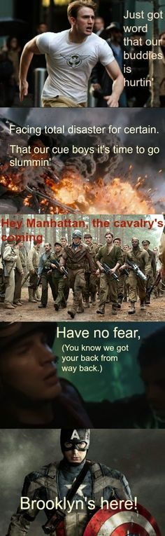 Newsies/Captain America, Brooklyn's here! Love this. <3 this just became my favorite post of all time
