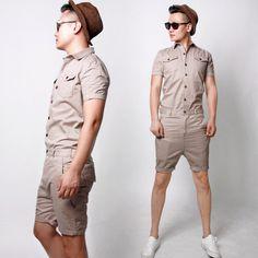 men's shorts jumpsuits - Google Search