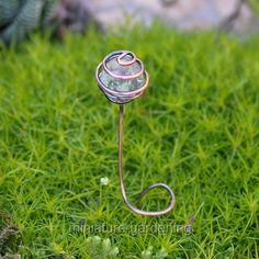 Miniature Fairy Garden Glow in the Dark Mini Pot Stickers