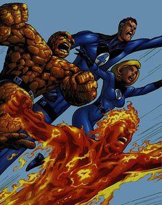 El Reboot De Los 4 Fantásticos Ya Tiene Fecha De Estreno Para El 2015 | DiosCaficho.Com