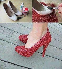 Reciclado de zapatos