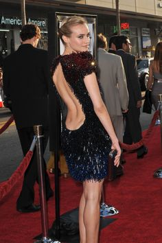 Diane Kruger at the LApremiereof Inglourious Basterds in 2009