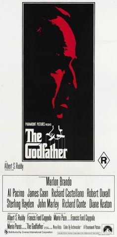 """The Godfather"" (1972). DIRECTOR: Francis Ford Coppola.  BEST PICTURE WINNER 1972"