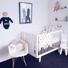 nursery   black and white