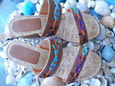 026 (2) Micro Macrame, Flip Flops, Sandals, Diy, Shoes, Women, Fashion, Moda, Shoes Sandals