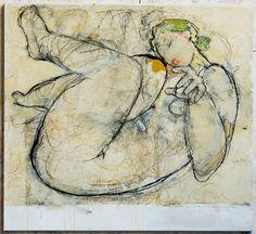L'art Du Portrait, Abstract Portrait, Figure Painting, Figure Drawing, Colorful Drawings, Art Drawings, Art Et Illustration, Life Drawing, Art Design
