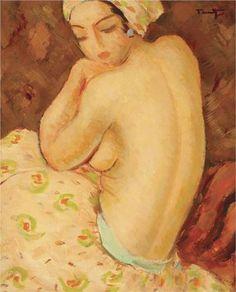 Afizé Nicolae Tonitza - by genre - nude painting (nu) Impressionism, Art Painting, Figure Painting, Painter, Art Database, Art Auction, Painting, Visual Art, Art