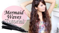Mermaid Waves Hair Tutorial + Deep Waver GIVEAWAY! everyone check her out!! i love all of her videos, she's just awesome! she does the best toturials so i recomend checking out her channel!!