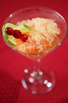 Cranberry Citrus Vodka Slush