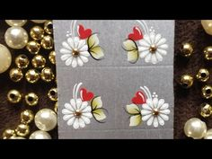 Borboleta passo a passo - YouTube Manicure Y Pedicure, Fun Crafts, Nails, Manicures, Alice, Pastel, Gift Wrapping, Nail Art, Stickers