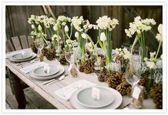 spring wedding table decoration with flowers Check out this amazing Georgia Wedding Venue - Tryphenasgarden.com