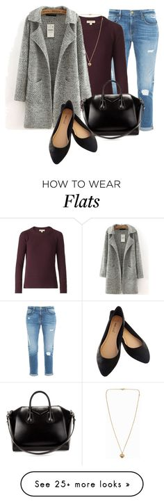 """""""Professional Wardrobe for All Ages Outfit: 16"""" by vanessa-bohlmann on Polyvore featuring mode, Frame Denim, Burberry, Michael Kors, Givenchy et Wet Seal"""