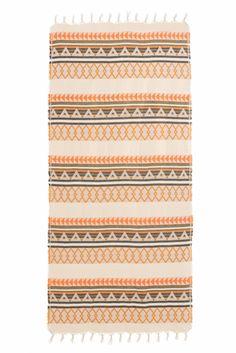 Devotion Damen Strandtuch Beige/Orange | SAILERstyle Outdoor Blanket, Orange, Ladies Day Dresses, Gift Cards, Cotton
