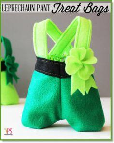 Leprechaun Pants Treat Bags
