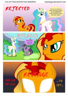 Mlp Comics | Sun Setting ............. Starter | step by step knowing you are hated and who you hate