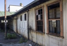 Abandoned warehouse in the middle of downtown Santa Barbara, taken by Alexandra Williams, MA