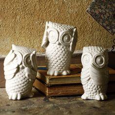 Owl Figurines