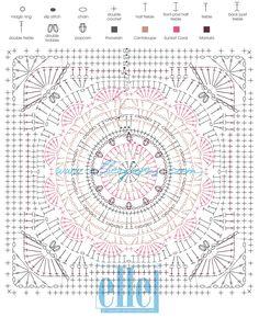 Transcendent Crochet a Solid Granny Square Ideas. Inconceivable Crochet a Solid Granny Square Ideas. Motifs Granny Square, Granny Square Crochet Pattern, Crochet Flower Patterns, Crochet Stitches Patterns, Crochet Diagram, Doily Patterns, Crochet Chart, Crochet Squares, Crochet Granny