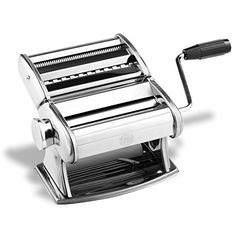 GM Professional Pasta Maker Machine with Hand Crank >>> Click on the image for additional details.