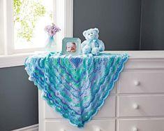 Mary Maxim - Pathways Baby Blanket - New Items